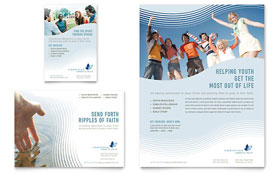 Christian Ministry - Flyer & Ad Template Design Sample