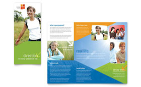 Church Youth Ministry - Brochure Template