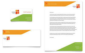 Church Youth Ministry - Business Card & Letterhead Template Design Sample