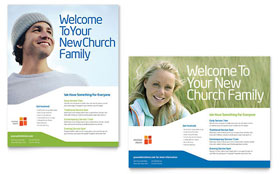 Church Youth Ministry - Poster Template Design Sample