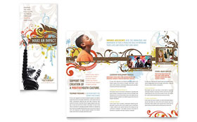 Church Youth Group - Brochure
