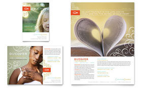 Christian Church - Leaflet Template Design Sample