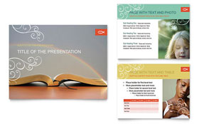 Christian Church Religious - Microsoft PowerPoint Template