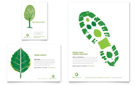 Environmental Non Profit - Flyer & Ad Template Design Sample