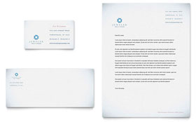 Jeweler & Jewelry Store - Business Card & Letterhead Template Design Sample