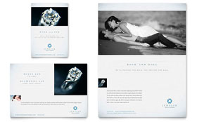 Jeweler & Jewelry Store - Leaflet Sample Template