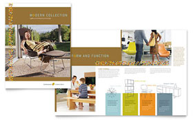 Furniture Store - Business Marketing Brochure Template