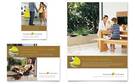 Furniture Store - Flyer & Ad Template Design Sample