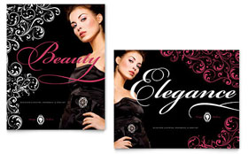 Formal Fashions & Jewelry Boutique - Poster Template Design Sample