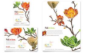 Flower Shop - Flyer & Ad Template