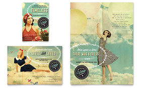 Vintage Clothing - Flyer & Ad Template