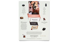 Antique Mall - Leaflet Template