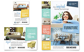 Home Furnishings - Flyer & Ad Template