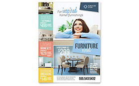 Home Furnishings - Flyer Template