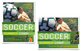 Soccer Sports Camp - Poster Template