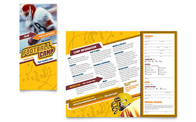 Football Sports Camp - Brochure