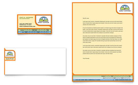 Golf Instructor & Course - Business Card & Letterhead