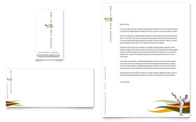 Karate & Martial Arts - Letterhead Template