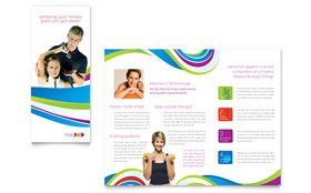 Personal Trainer - Brochure Template