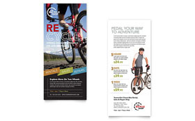 Bike Rentals & Mountain Biking - Rack Card