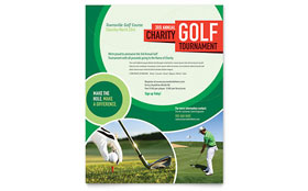 Golf Tournament - Flyer