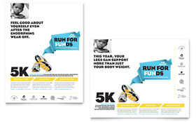Charity Run - Poster Sample Template