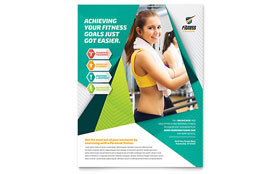 Fitness Trainer - Flyer Template
