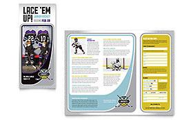 Junior Hockey Camp - Brochure Template