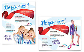 Gymnastics Academy - Poster Sample Template