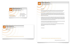 Computer Consulting - Letterhead Sample Template