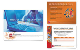 Computer Consulting - PowerPoint Presentation Sample Template