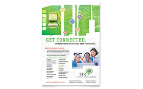 ISP Internet Service - Flyer Template