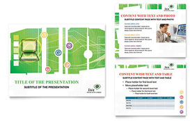 ISP Internet Service - PowerPoint Presentation Template Design Sample