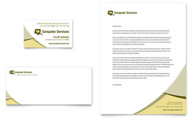 Computer Services & Consulting - Letterhead Sample Template