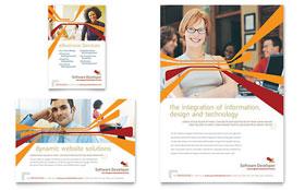 Software Developer - Leaflet Template
