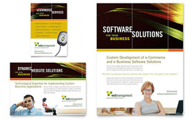 Internet Software - Flyer & Ad Template