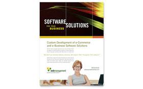 Internet Software - Leaflet Template