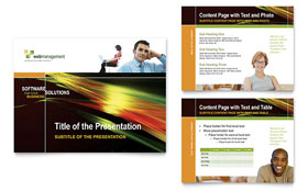 Internet Software - PowerPoint Presentation Template