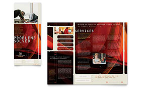 Computer Repair - CorelDRAW Brochure Template