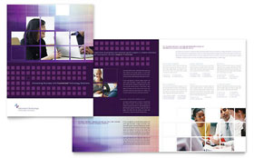 Information Technology Consultants - Apple iWork Pages Brochure Template