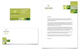 Internet Marketing - Business Card & Letterhead Template