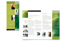 Internet Marketing - Tri Fold Brochure Template