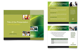 Internet Marketing - PowerPoint Presentation Sample Template