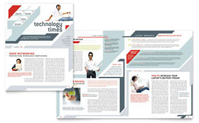 Computer Solutions - Newsletter Template