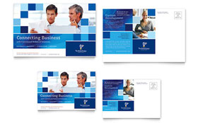Technology Consulting & IT - Postcard Template