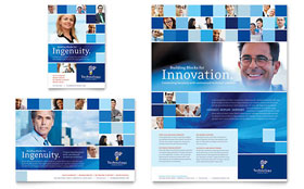 Technology Consulting & IT - Flyer Sample Template