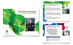 Network Administration - Microsoft PowerPoint Template
