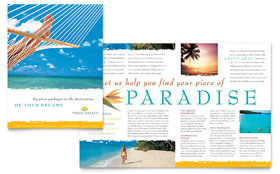 Travel Agency - Pamphlet Sample Template