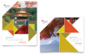 Japan Travel - Poster Template