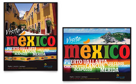 Mexico Travel - Poster